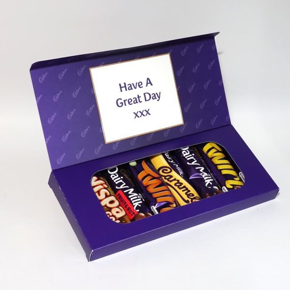 Personalised Cadbury Mixed Bars Letterbox Selection