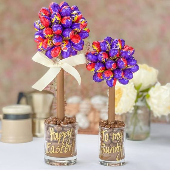 Personalised Cadbury's Creme Egg Sweet Tree