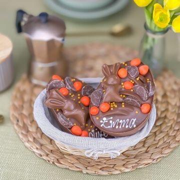 Personalised Chocolate Orange Loaded Egg