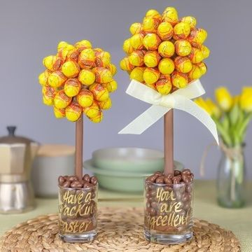 Personalised Peanut Butter Creme Mini Eggs Sweet Tree