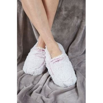 Cozy Microwavable Slippers Marshmallow Pink