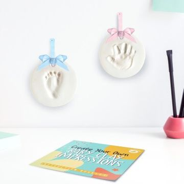 Create Your Own Baby Hands Or Feet In Clay