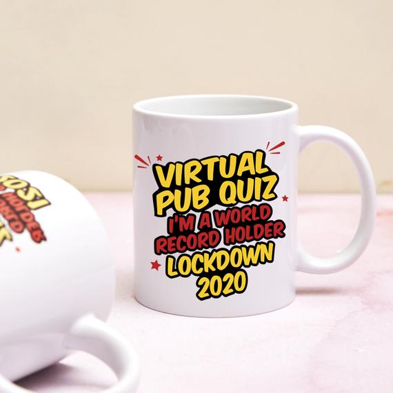 Jay's Virtual Pub Quiz World Record Holder Mug