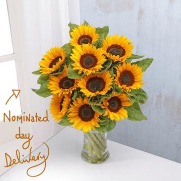 English Sunflowers Bouquet