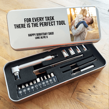 Personalised Small Photo Tool Kit