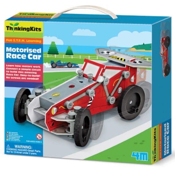 Mecho Motorised Race Car Construction Kit