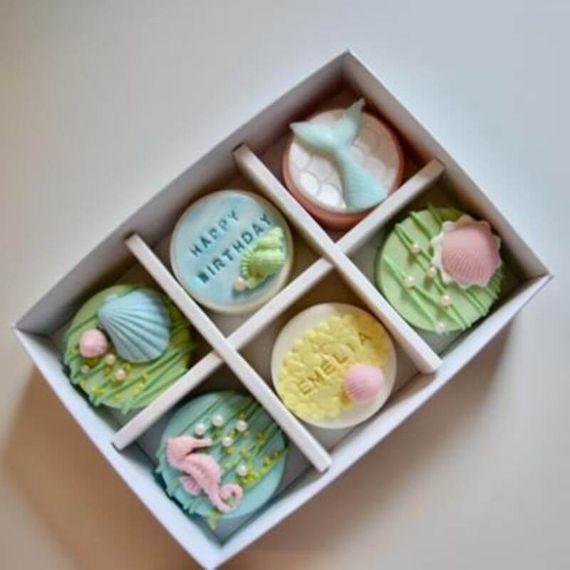 Personalised Mermaid Coated Oreo Gift Box