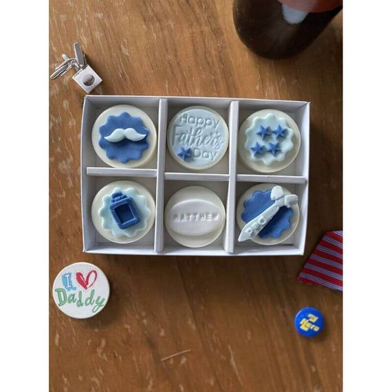Personalised Father's Day Coated Oreo Gift Box