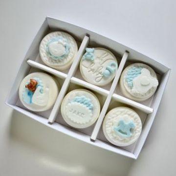 Personalised Baby Coated Oreo Gift Box