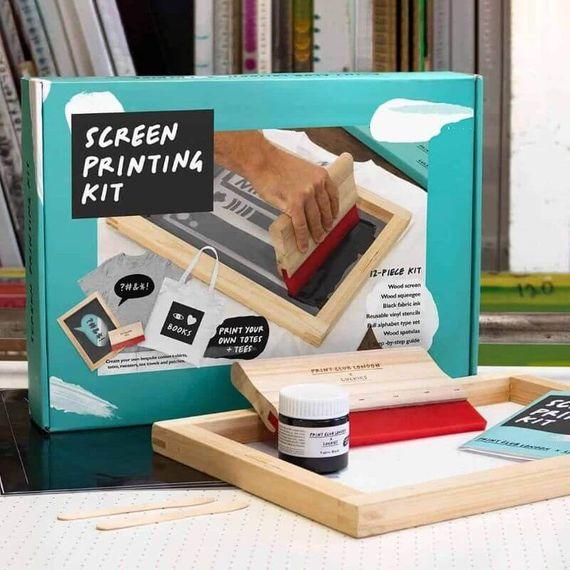 Print Club London Screen Printing Kit