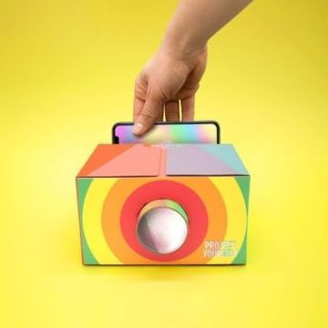 Project Yourself Rainbow Smartphone Projector
