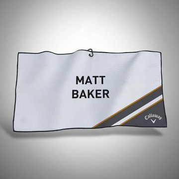 Personalised Callaway Customs Lumi Players Towel