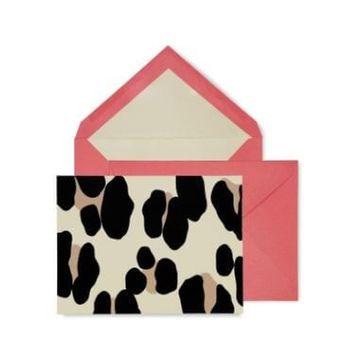 Kate Spade Forest Feline Notecard Set