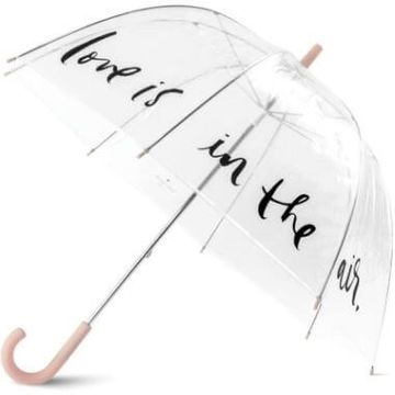 Kate Spade Love Is In The Air Clear Umbrella