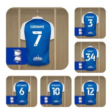 Personalised Birmingham City FC Dressing Room Coasters