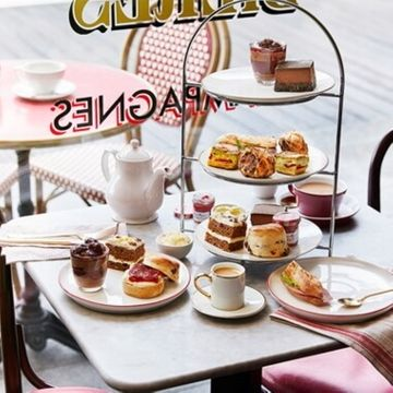 Afternoon Tea for Two at Cafe Rouge