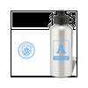Personalised Manchester City FC Monogram Aluminium Water Bottle