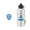 Personalised Leeds United FC Monogram Aluminium Water Bottle