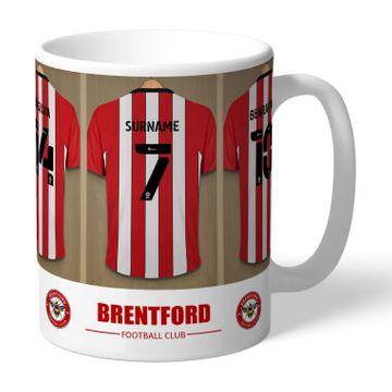 Personalised Brentford FC Dressing Room Mug