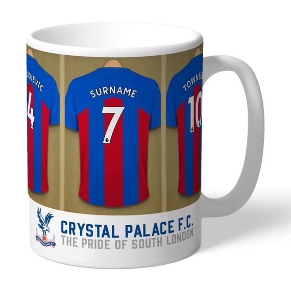 Personalised Crystal Palace FC Dressing Room Mug