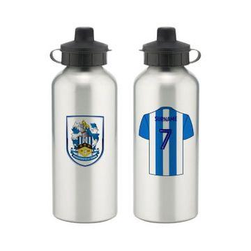 Personalised Huddersfield Town Aluminium Water Bottle