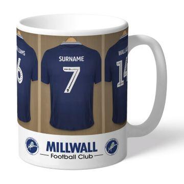Personalised Millwall FC Dressing Room Mug