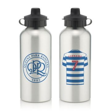 Personalised Queens Park Rangers FC Aluminium Water Bottle