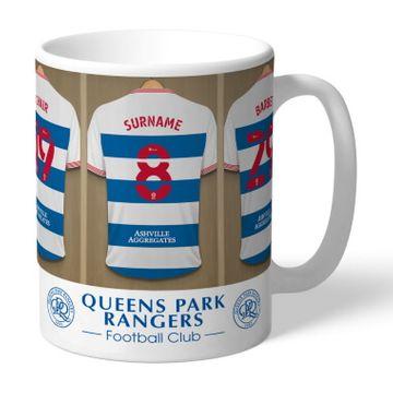 Personalised Queens Park Rangers FC Dressing Room Mug