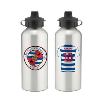 Personalised Reading FC Aluminium Water Bottle