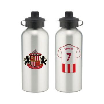 Personalised Sunderland AFC Aluminium Water Bottle