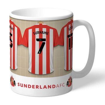 Personalised Sunderland AFC Dressing Room Mug