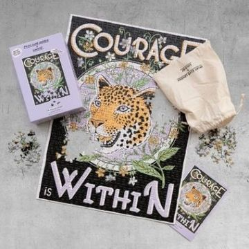 Print Club London Courage Is Within Jigsaw