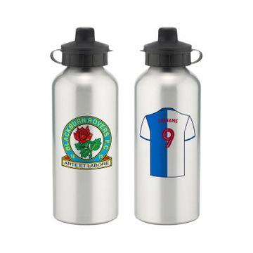 Personalised Blackburn Rovers FC Aluminium Water Bottle