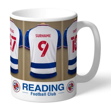 Personalised Reading FC Dressing Room Mug