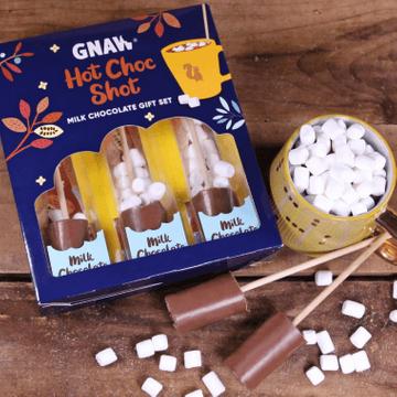 Milk Chocolate Hot Shot Gift Box