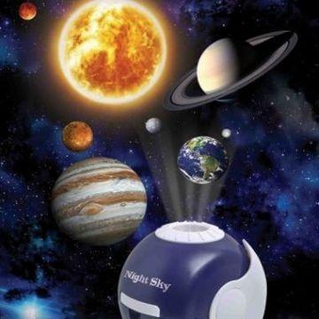 Night Sky Solar System, Constellations, Starlight And Moonlight Projector