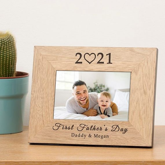 Personalised 2021 Father's Day Photo Frame
