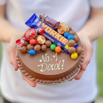 Personalised Mini Fathers Day Smash Cake