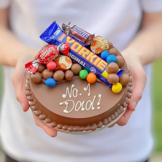 personalised gift ideas for dads - smash cake