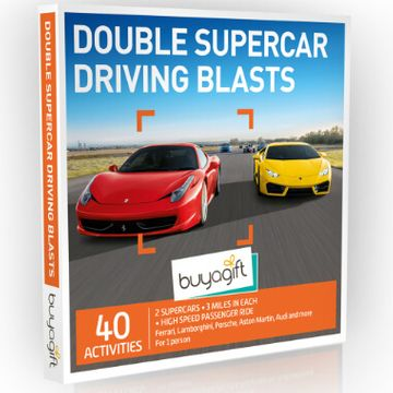 Double Supercar Driving Blasts Experience Box