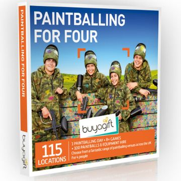 Paintballing for Four Experience Box