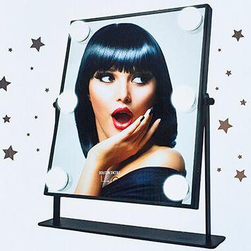 LED Hollywood Mirror - Black