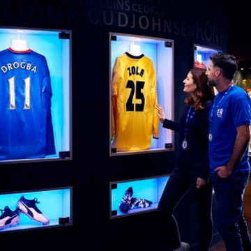 Chelsea FC Stamford Bridge Family Stadium Tour