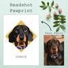 Personalised Headshot Pawprint