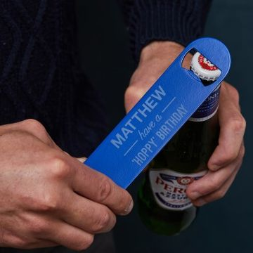 Personalised Birthday Bottle Opener