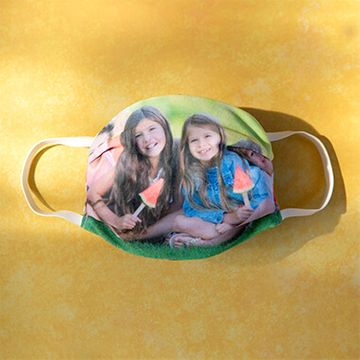Personalised Photo Face Mask - Adults Size