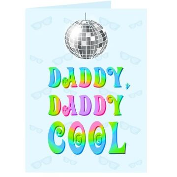 Personalised Daddy Cool Card
