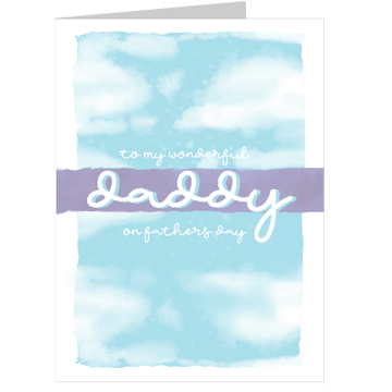 Personalised Wonderful Daddy Card