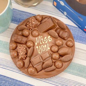 Personalised Letterbox Chocolate Slab