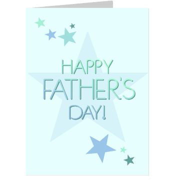 Personalised Happy Father's Day Card